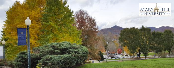 Mars Hill University Arboretum autumn trees